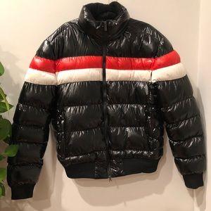 Robert Phillipe Mens Nylon Puffer Jacket BLACK